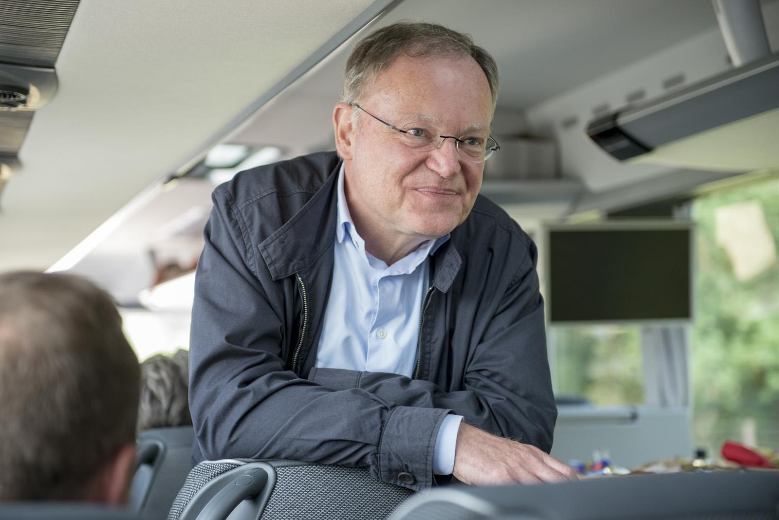 Start der Sommerreise im Bus