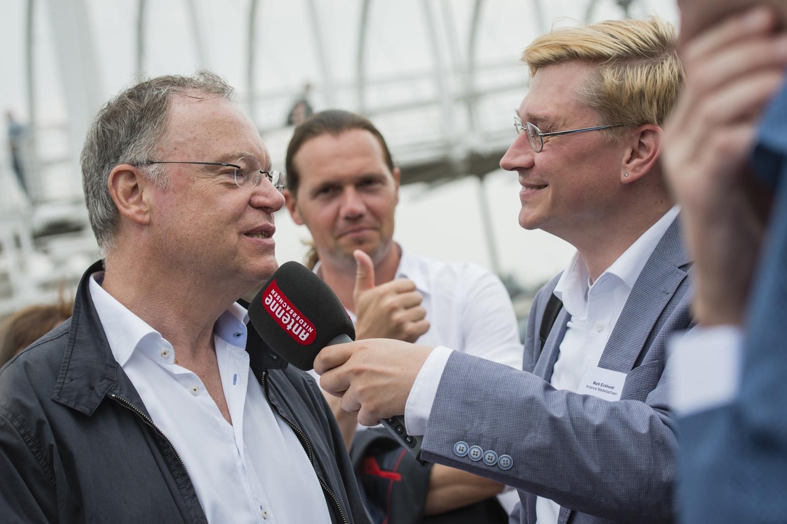Sommerreise Stephan Weil im Interview mit Marc Eickhorst
